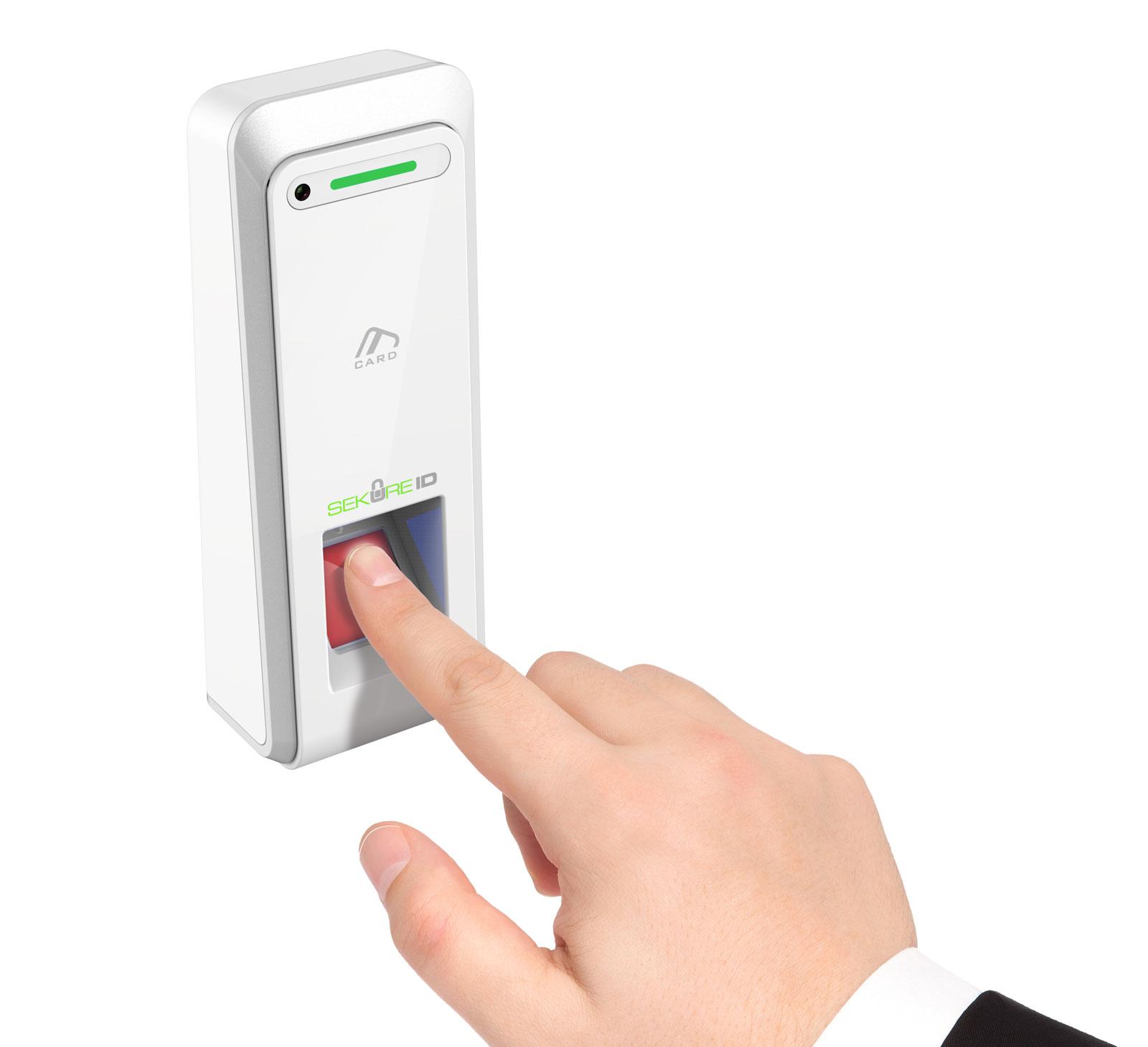 Xenio AC-200 Smart Fingerprint Terminal powered by SekureID